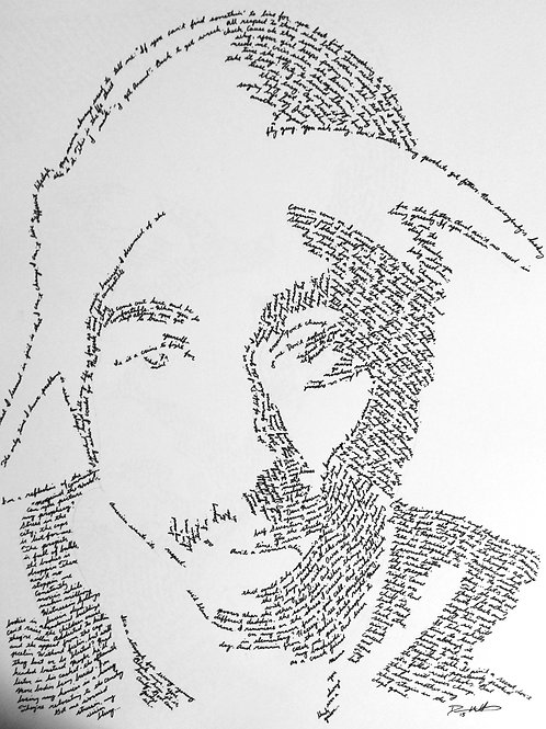 Tupac, In Their Own Words Print