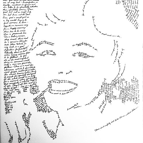 Marilyn Monroe, In Their Own Words Prints