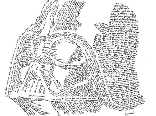 Darth Vader, In Their Own Words Print