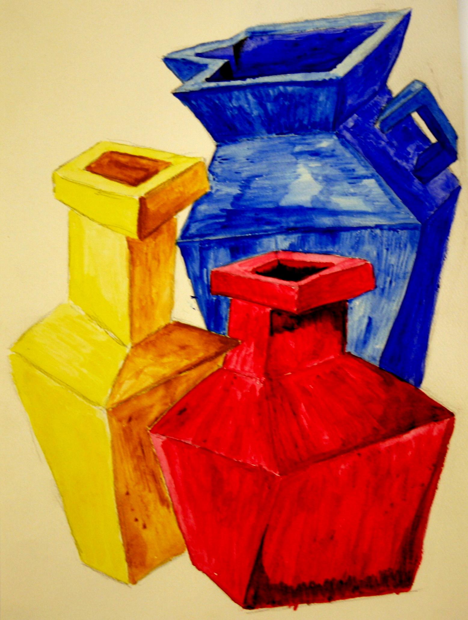 Still Life with Pots