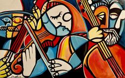 """""""Broken Bluegrass"""" - Sold"""