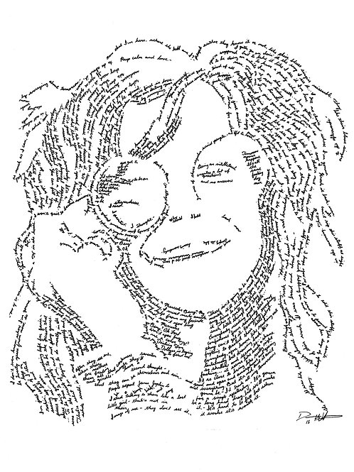 Janis Joplin, In Their Own Words Prints