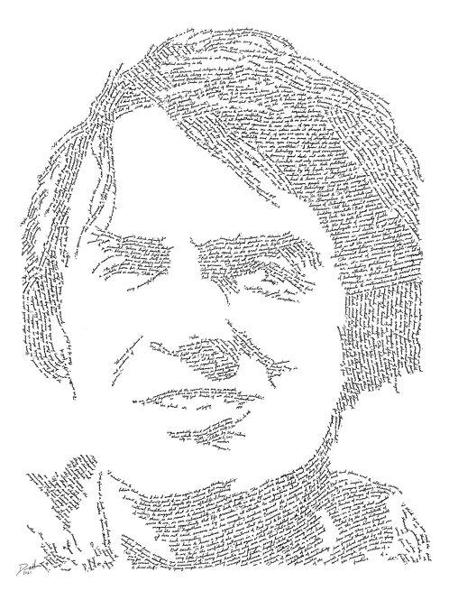 Carl Sagan, In Their Own Words Print