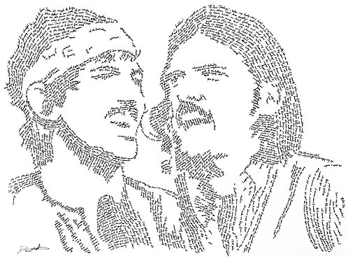 Avett Brothers, In Their Own Words Print