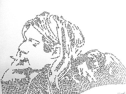 Kurt Cobain, In Their Own Words Prints