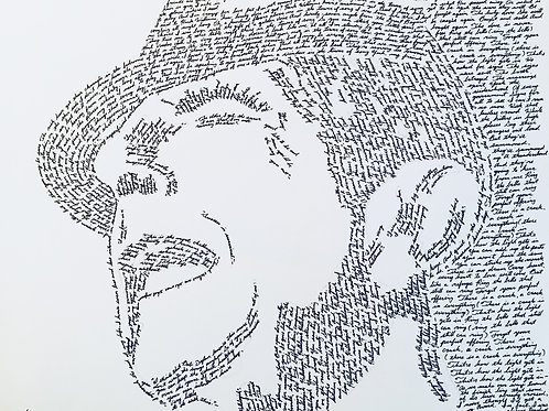 Leonard Cohen, In Their Own Words Print