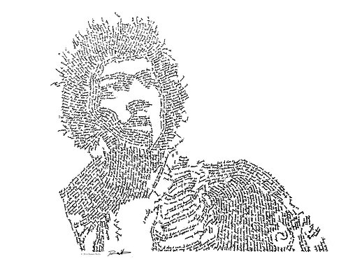 Jimi Hendrix, In Their Own Words Prints