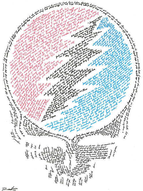 Steal Your Face, In Their Own Words Print