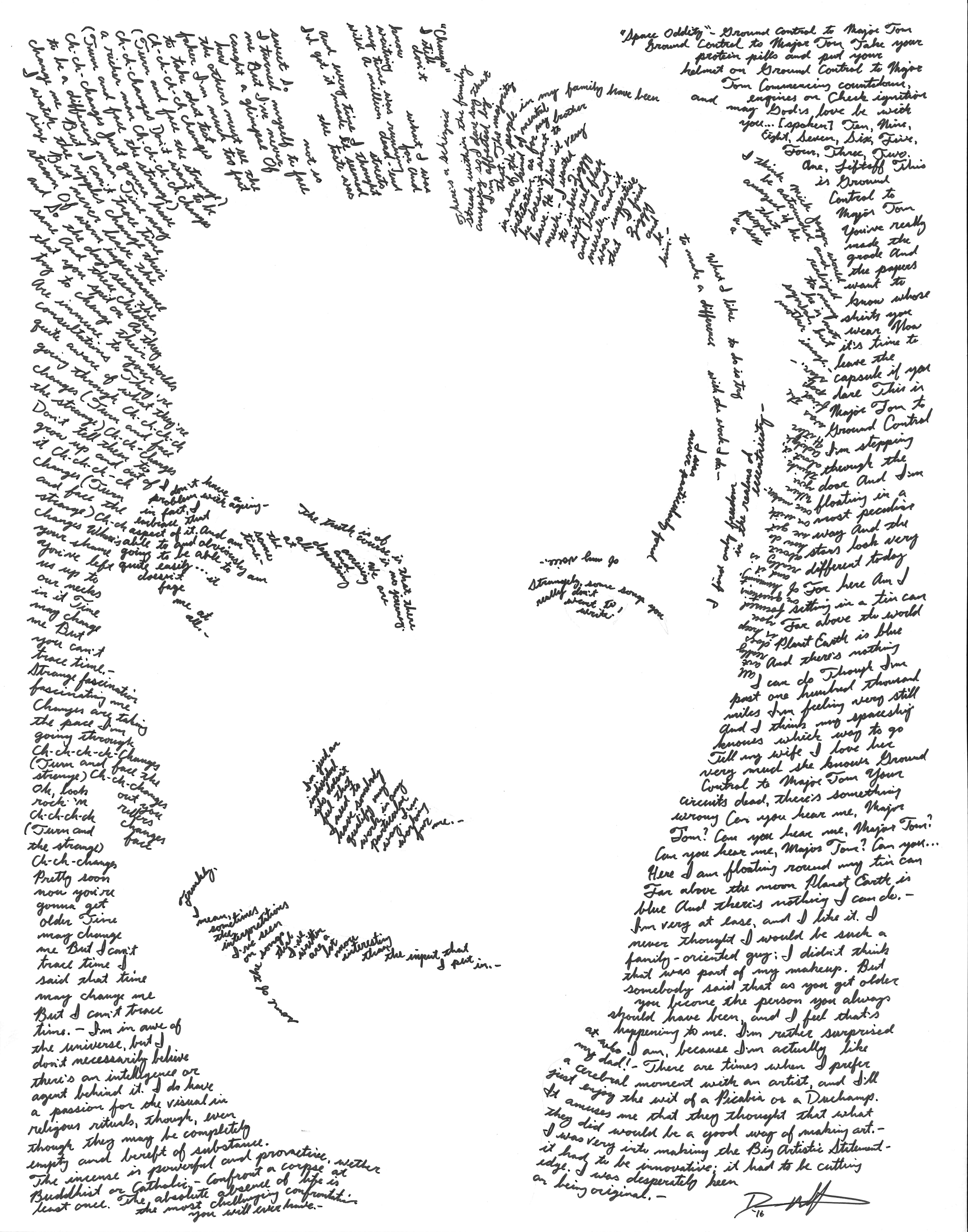 David Bowie - SOLD