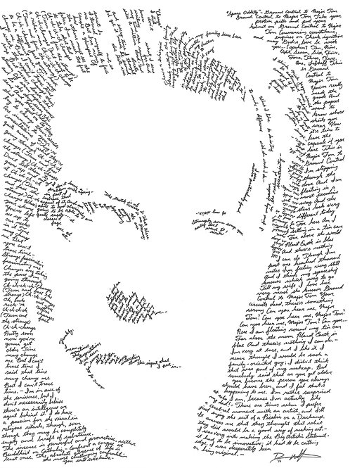 David Bowie, In Their Own Words Print