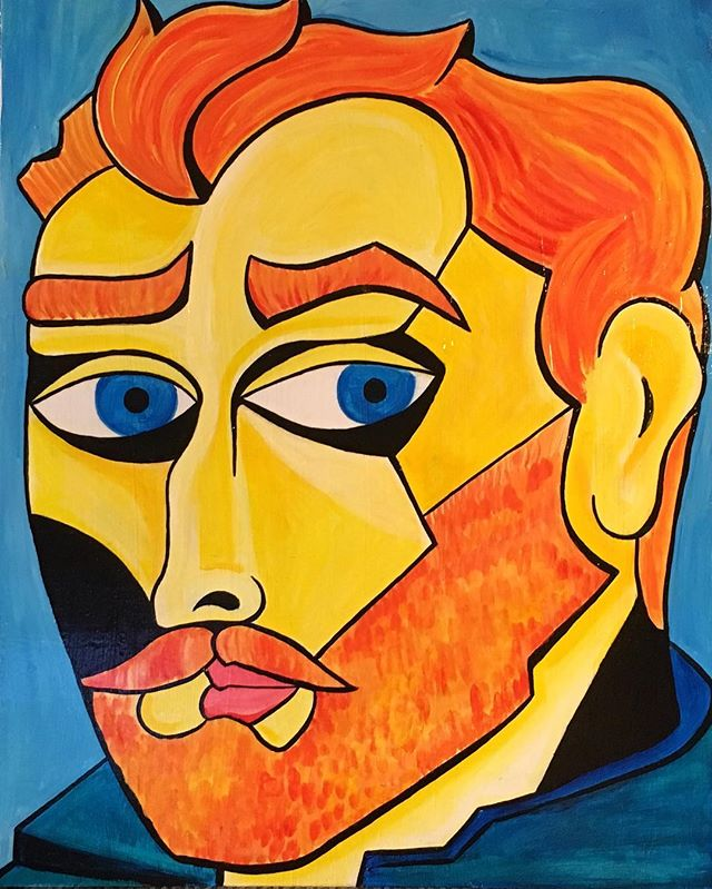 Vincent, a portrait from a self port