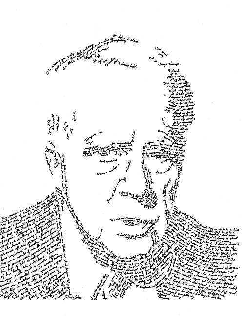 Robert Frost, In Their Own Words Print