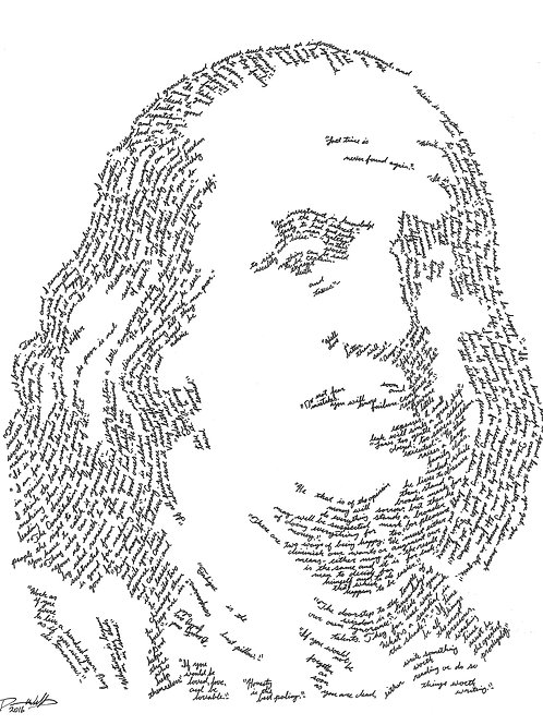 Benjamin Franklin, In Their Own Words Print