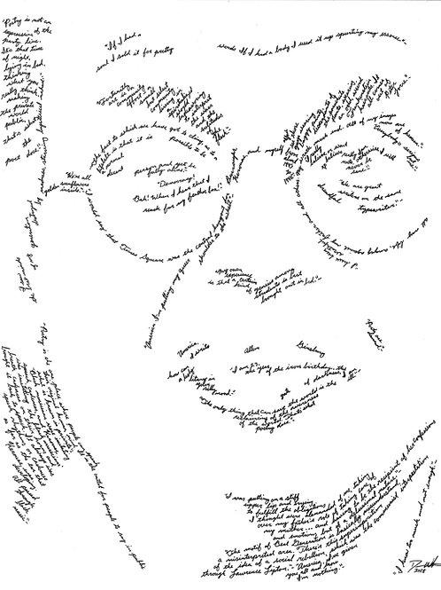 Allen Ginsberg, In Their Own Words Print