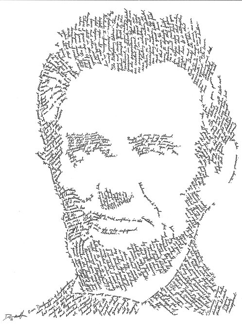 Abraham Lincoln, In Their Own Words Print