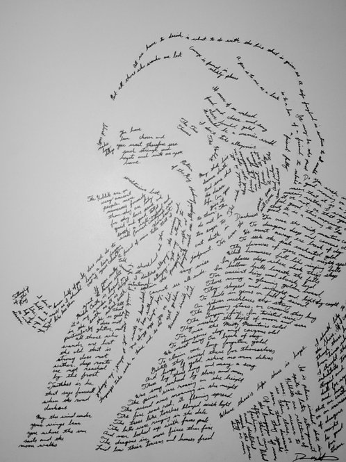 JRR Tolkein, In Their Own Words Prints