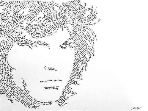Jim Morrison, In Their Own Words Prints