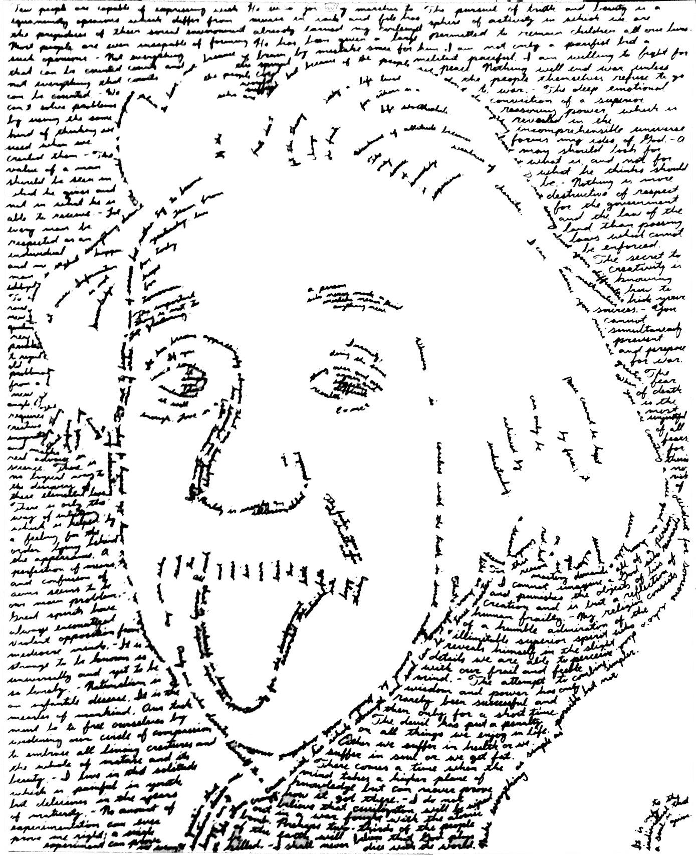 Albert Einstein - SOLD