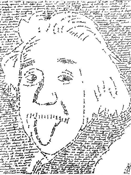 Einstein, In Their Own Words Prints