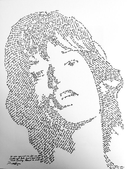 Mick Jagger, In Their Own Words Prints