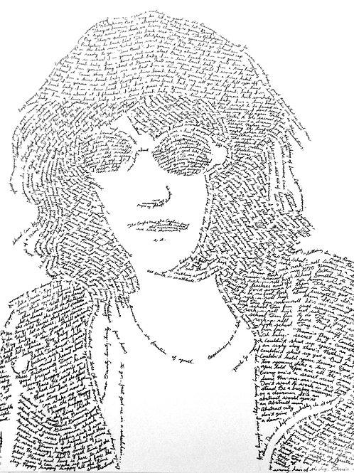 Joey Ramone, In Their Own Words Prints