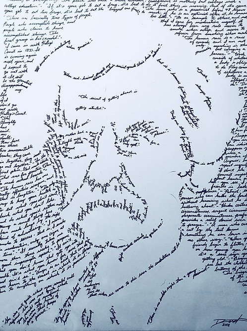 Mark Twain, In Their Own Words Print