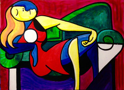 Reclined 2 - Sold