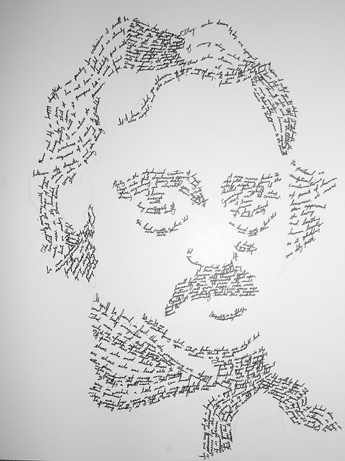 Edgar Allen Poe, In Their Own Words Prints