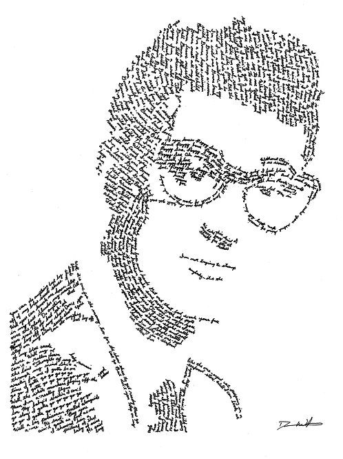Buddy Holly, In Their Own Words Prints