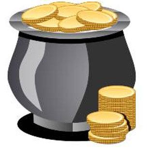 Money Drawing Vigil Candle