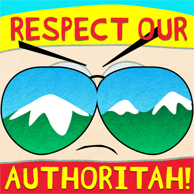 Respect Our Authoritah: South Park Podcast