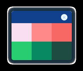 בחירת צבעים - וויקס