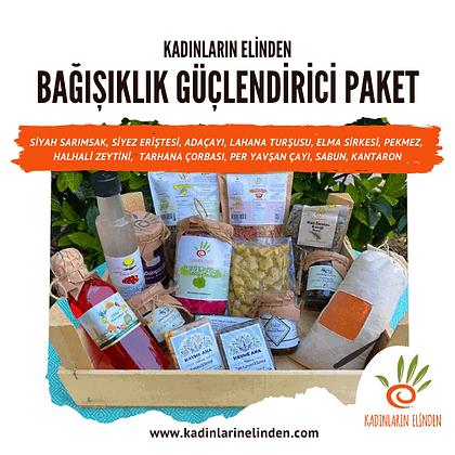 Bağışıklık Güçlendirici Doğal Gıda Paketi