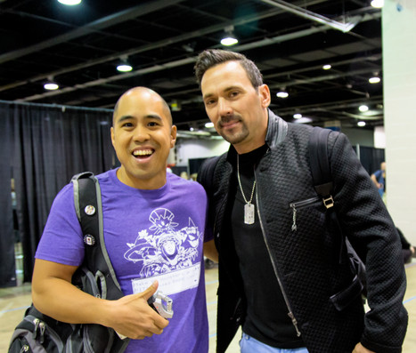 The Power Rangers Jason David Frank VS CM Punk of the WWE  in a UFC Dream Match! An Interview with t