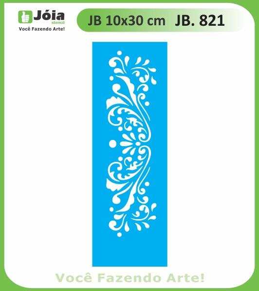 Stencil JB 821