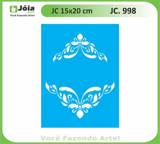 stencil JC 998