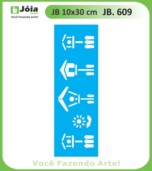 Stencil JB 609