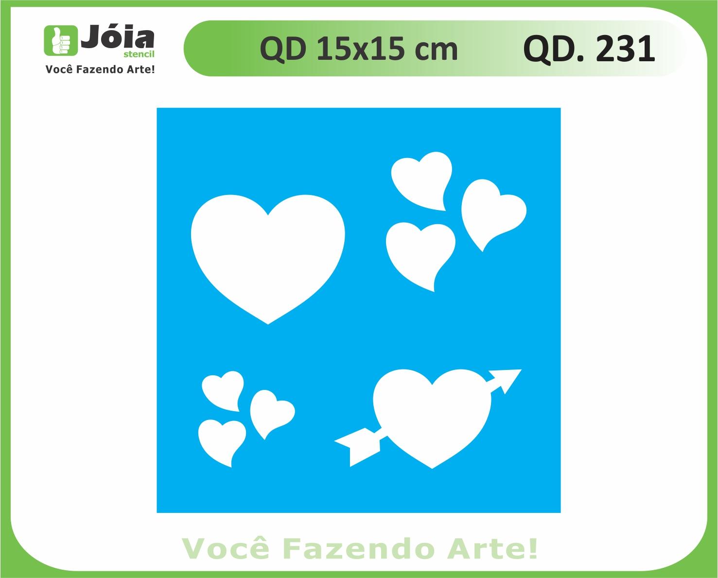 stencil QD 231