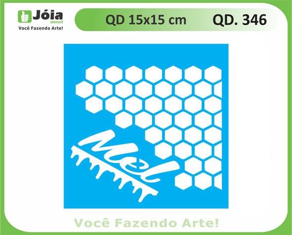 stencil QD 346