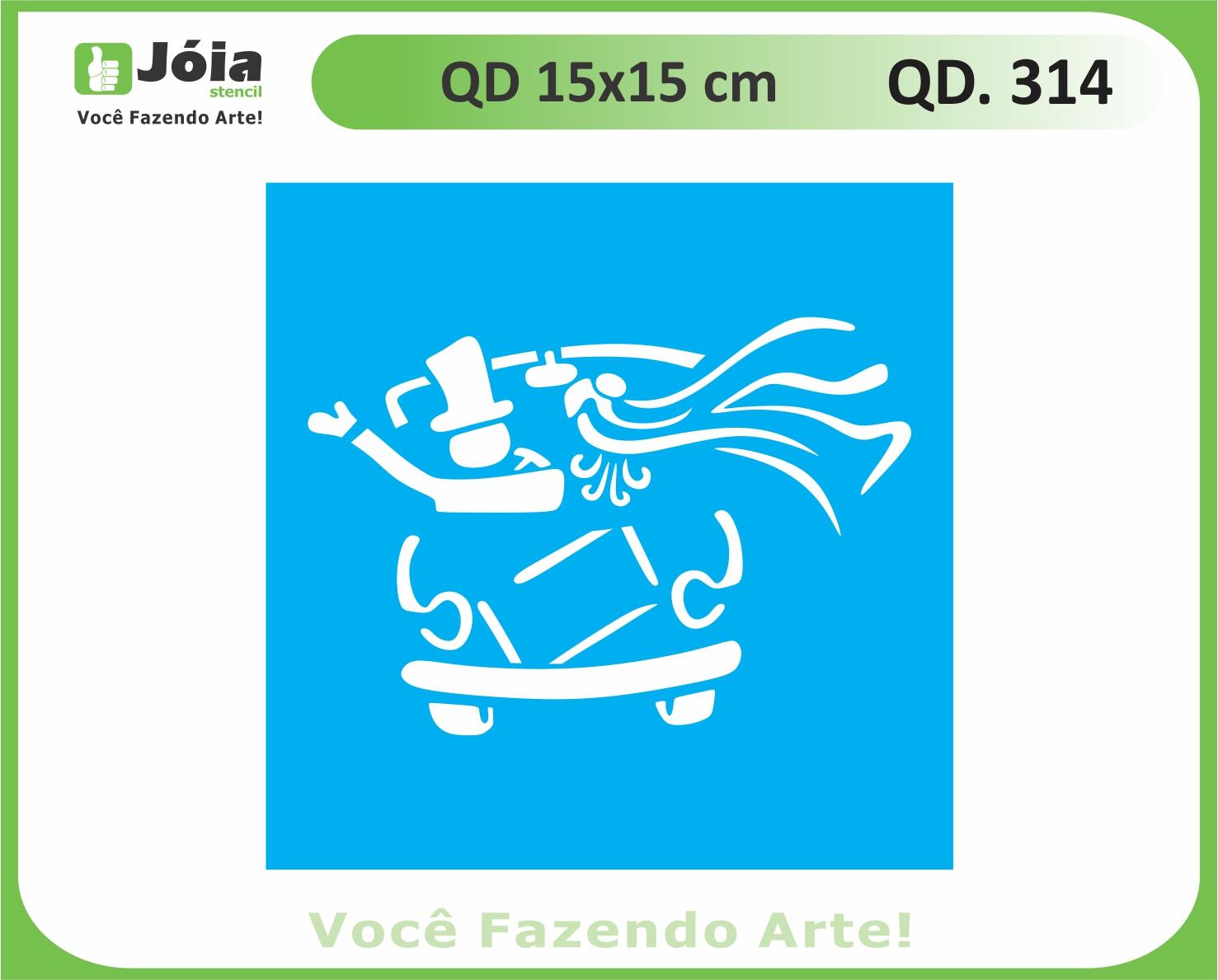 stencil QD 314