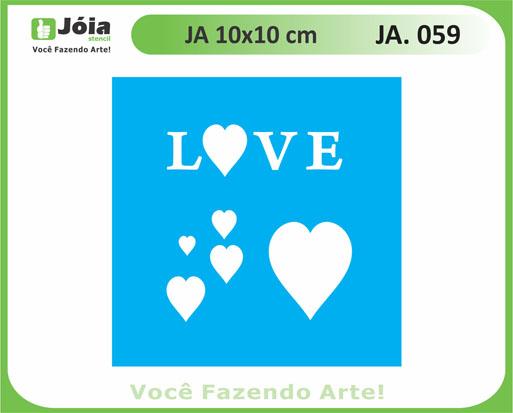 stencil JA 059