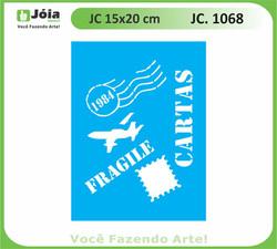 stencil JC 1068