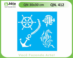 Stencil QN 412