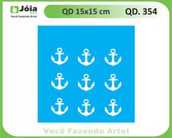 stencil QD 354