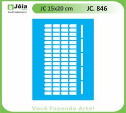 stencil JC 846