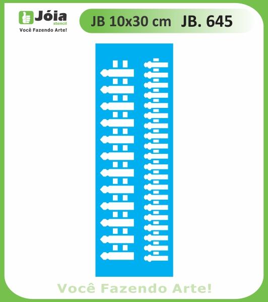 Stencil JB 645