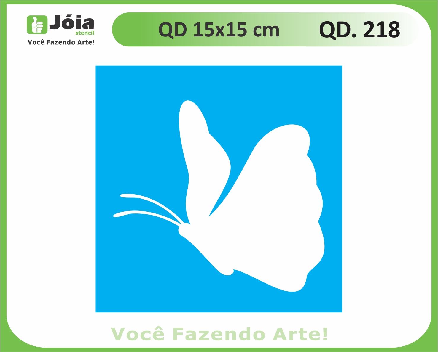 stencil QD 218