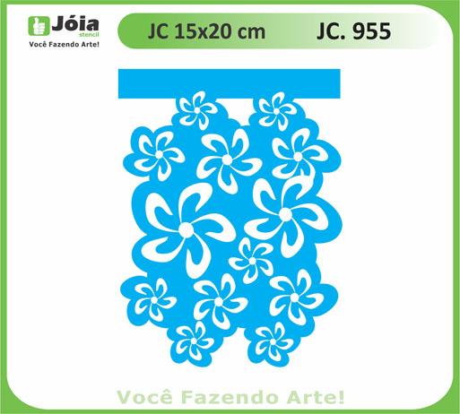 stencil JC 955