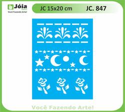stencil JC 847