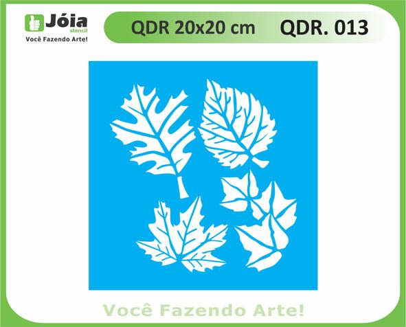 stencil QDR 013